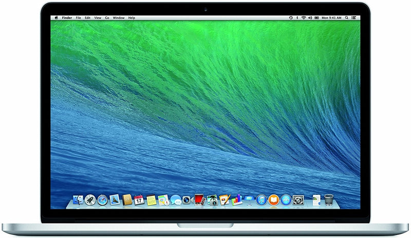 "Apple MacBook Pro 15.4"" with Retina Display i7 8GB 256GB ME293LL/A in Silver"