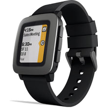 Pebble Time Smartwatch in Black