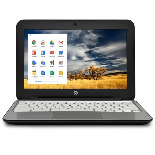 "HP Chromebook 11 G2 Exynos 5250 Dual-Core 1.7GHz 2GB 16GB eMMC 11.6"" WLED Chromebook Chrome OS w/Cam & BT"