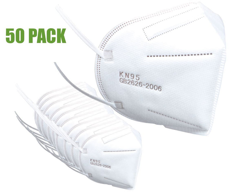 KN95 Protective Respiratory Breathing Face Mask - CE Certification