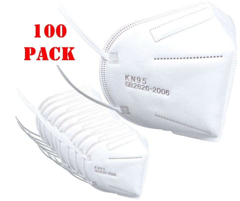 K-N95 Protective Face Mask Certified Respirator - 100 Pack