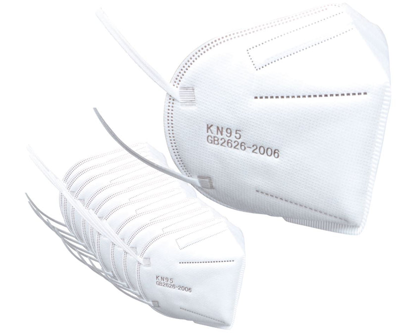 K-N95 Protective Face Mask Certified Respirator - 10 Pack