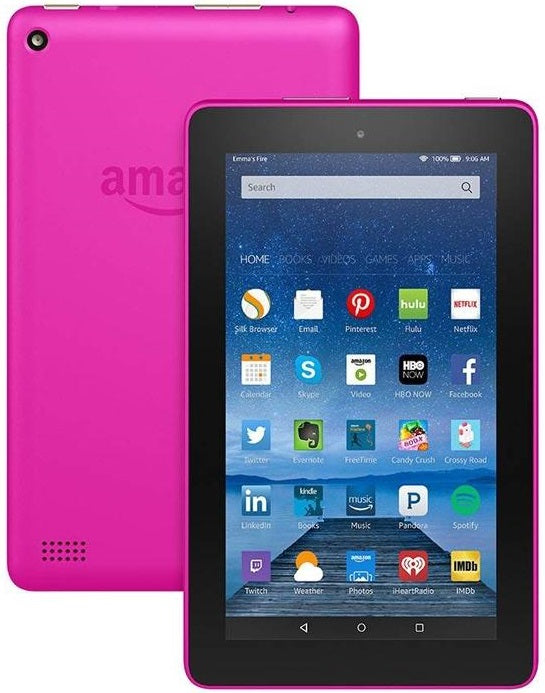 "Amazon Fire Tablet with Alexa 7"" Display 5th Gen 8GB or 16GB"