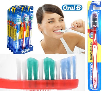 12-Pack Oral-B Shiny Clean Soft 35 Toothbrush Set