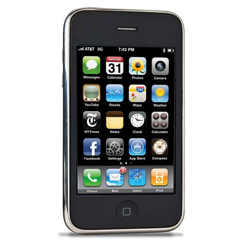 "Apple iPhone 3G 8GB 3.5"" Touchscreen Bluetooth & 2MP Camera (Black) AT&T"