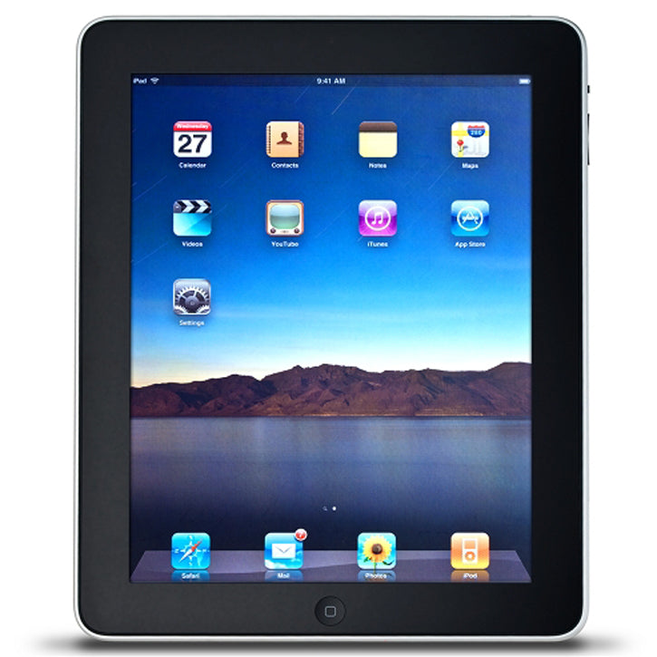 Apple iPad with Wi-Fi 64GB in Black 1st generation
