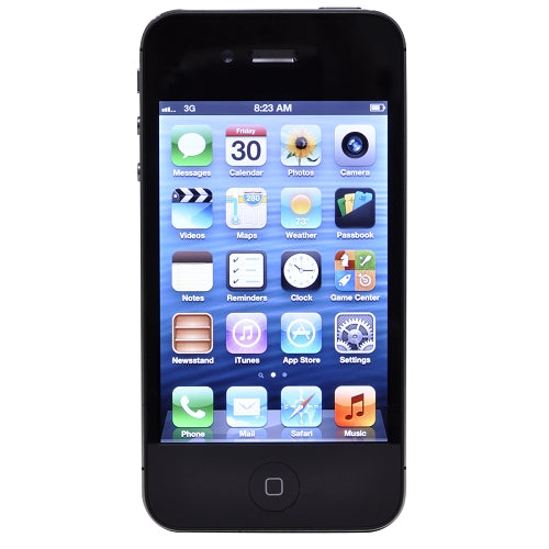 "Apple iPhone 4 8GB - 3.5"" Touchscreen Dual Camera Smartphone for AT&T in Black"