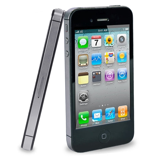"Apple iPhone 4S 8GB 3.5"" Touchscreen Quad-Band GSM Dual Camera Smartphone for AT&T (Black)"