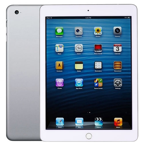 Apple iPad Air 2 with Wi-Fi 16GB in White & Silver MGLW2LL/A