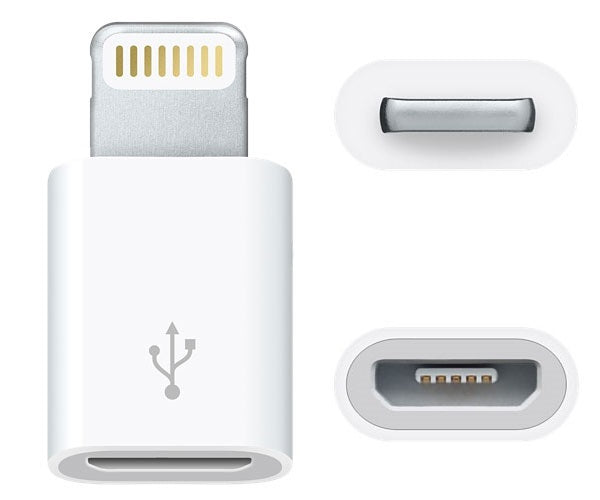 8-Pin to Micro USB Adapter for iPad & iPhone 5/6/7/8