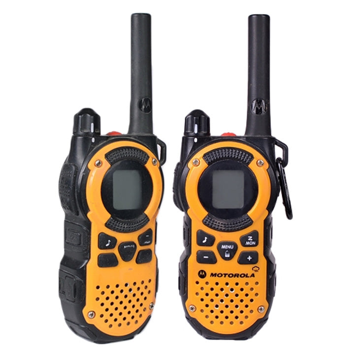 Motorola Talkabout 22 Channel Two-Way Radio with Built-in LED Flashlight Pack of 2