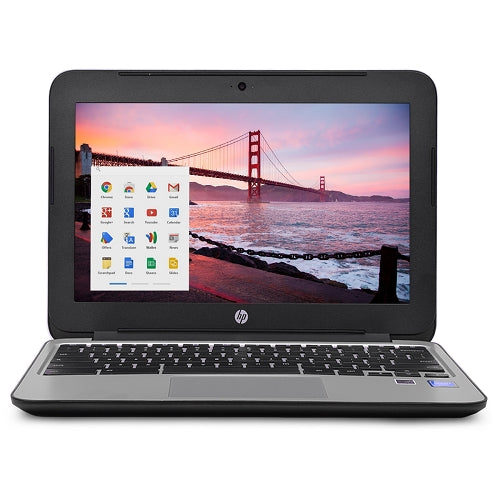 "HP Chromebook 11 G3 Celeron N2840 Dual-Core 2.16GHz 2GB 16GB SSD 11.6"" LED Chromebook Chrome OS w/Cam & BT (Black)"