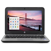 "HP Chromebook 11 G3 Celeron N2840 Dual-Core 2.5 GHz 4GB 16GB  SSD 11.6"" LED Chromebook Chrome OS w/Cam & BT (ENGRAVED)"