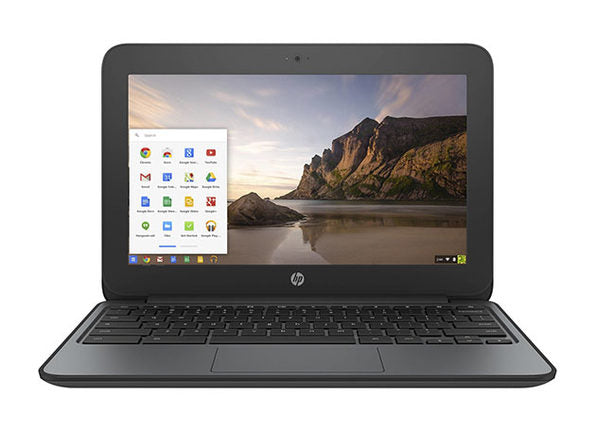 "HP 11.6"" Chromebook G4 EE Intel Celeron 2.16GHz 4GB 16GB SSD in Black V2W30UT#ABA (Scratch and Dent)"
