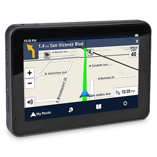 "Magellan RoadMate 5430T-LM 5.0"" Touchscreen GPS System w/North American Maps & Free Lifetime Map Updates/Traffiic Alerts"