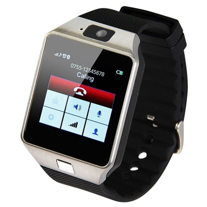 Bluetooth Smart Watch Phone Mate GSM SIM For Android in Silver