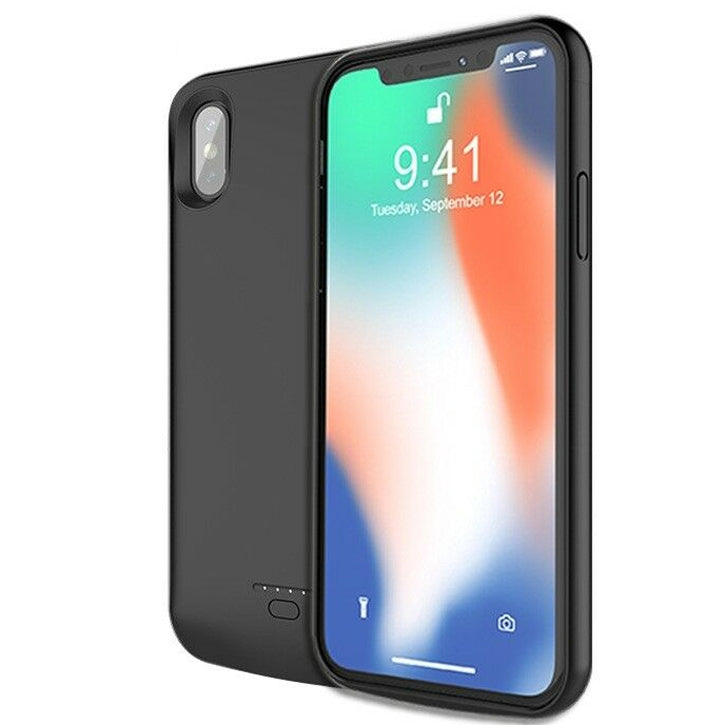 iTD Gear iPhone X 4000 mAh Backup Charger Battery Case in Black