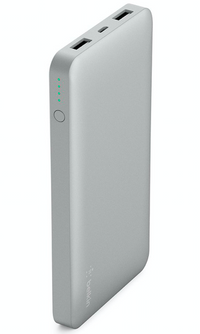 Belkin 10,000mAh Power Bank Battery Pack in Silver