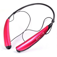LG TonePRO Wireless Stereo Bluetooth Headset HBS-750 - Magnetic Earbuds in Pink