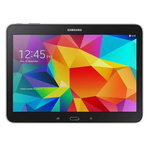 "Samsung Galaxy Tab 4 Quad-Core 1.2GHz 1.5GB 16GB 10.1"" Capacitive Touchscreen Tablet Android 5.0 w/Cams & BT (Black)"