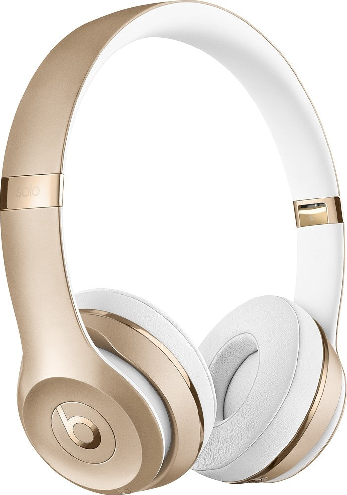 Beats Solo3 Wireless On-Ear Headphones in Gold