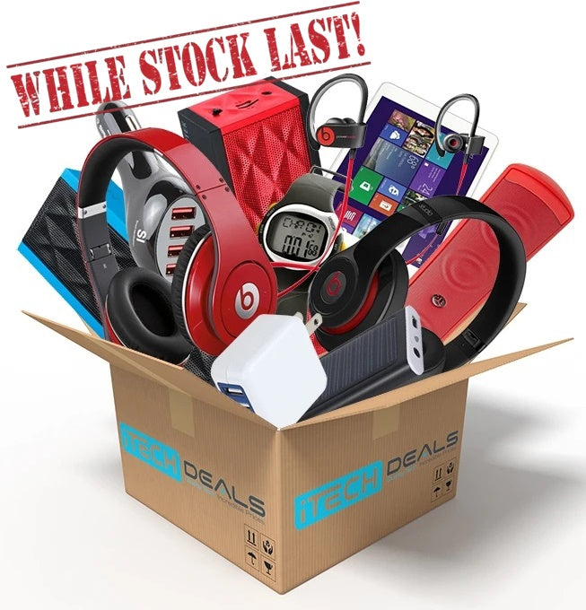iTechDeals Surprise Box of Tech - Limited Quantities Available!