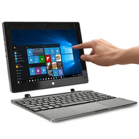 "Acer Switch One SW1-011 Touchscreen Atom x5-Z8300 Quad-Core 1.44GHz 2GB 32GB 10.1"" IPS Convertible Notebook W10H"