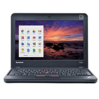 "Lenovo 11.6"" Chromebook ThinkPad X131e Dual-Core 1.5GHz 4GB 16GB  in Black/White"