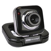 Tech Universe TU1513 640x480 USB 2.0 Webcam w/Built-in Microphone (Black)