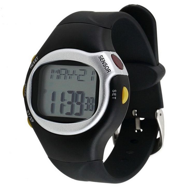 One-Touch Heart Rate Monitor w/Calorie Counter Health Exercise Watch