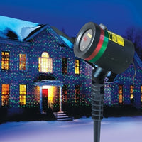 Static Laser Holiday Lights Star Projector