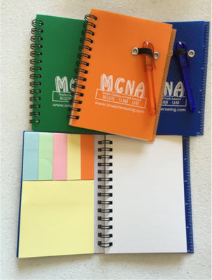 MCNA Mini-Notebook with Pen