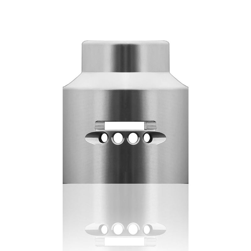 Rye RDA Media Blasted Stainless Cloud Cap by 99 Wraps