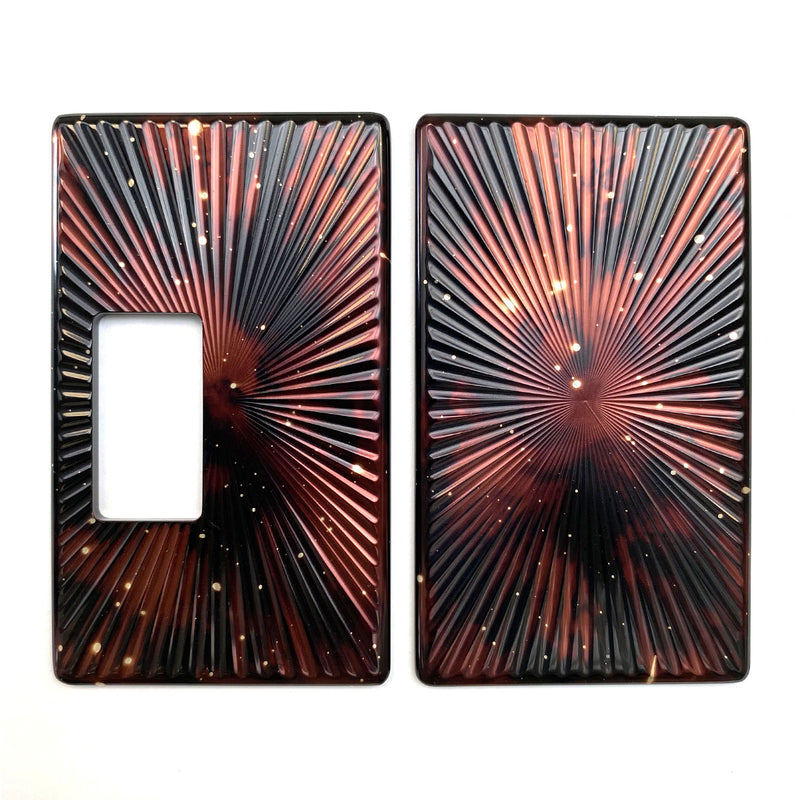 Billet Box Aluminium Panels - Star Burst - Brown Galaxy