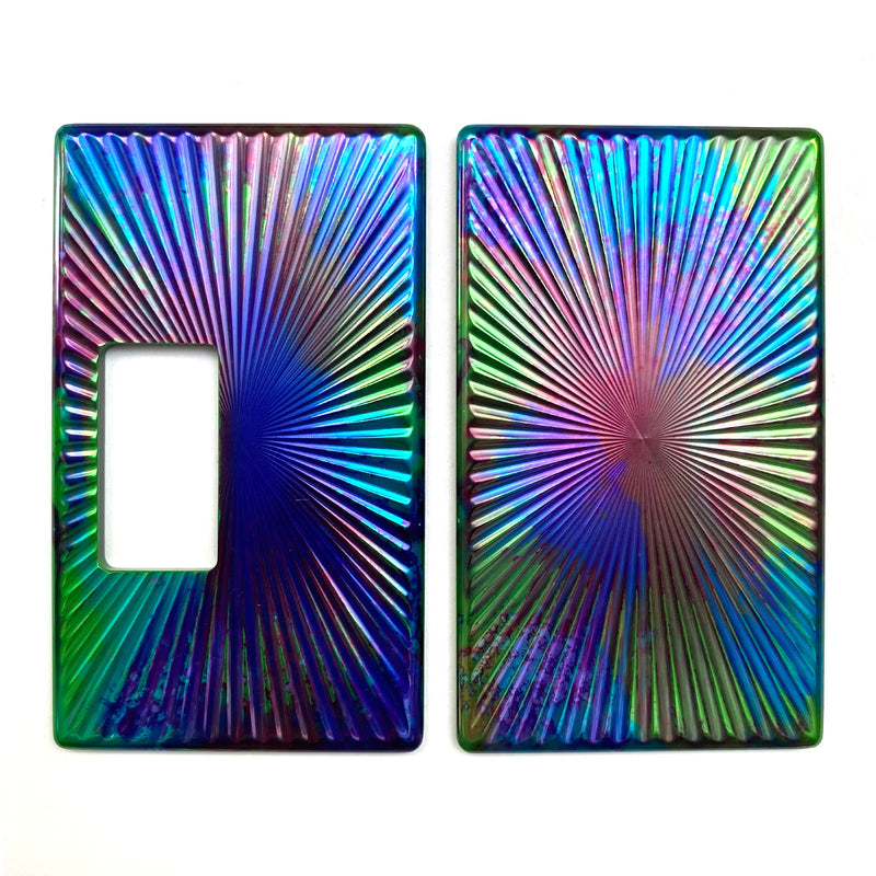 Billet Box Aluminium Panels - Star Burst - Suicide Squad