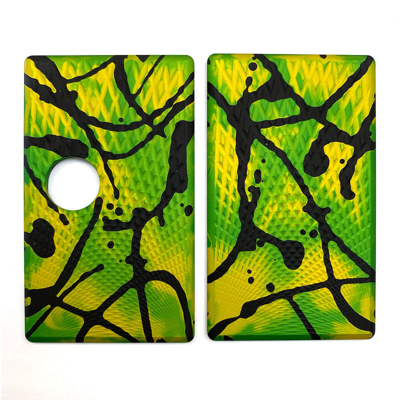 Billet Box Aluminium Panels - Fading Diamonds - Green Acid Wash/Black Splatter