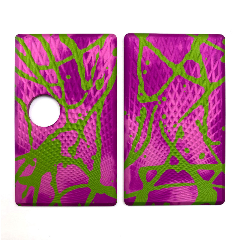 Billet Box Aluminium Panels - Fading Diamonds - Pink Acid Wash/Lime Splatter