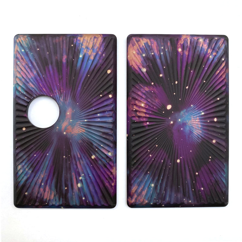 Billet Box Aluminium Panels - Star Burst - Purple Galaxy