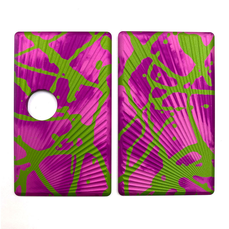 Billet Box Aluminium Panels - Sun Rays - Pink Acid Wash/Lime Splatter