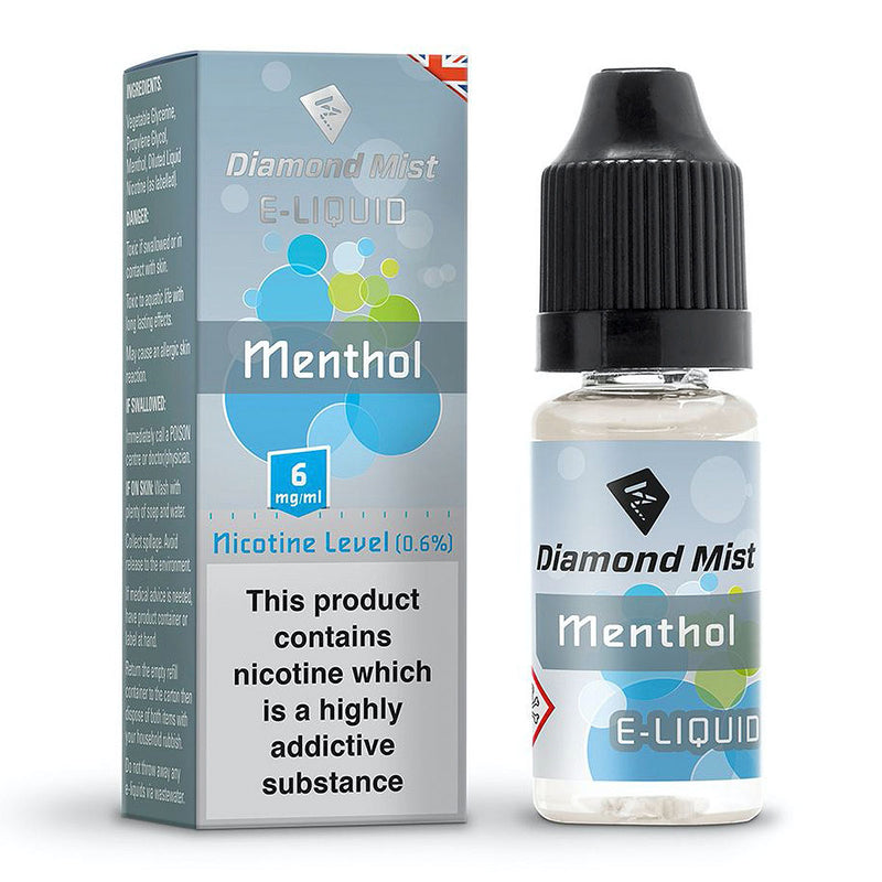 Menthol 10ml by Diamond Mist