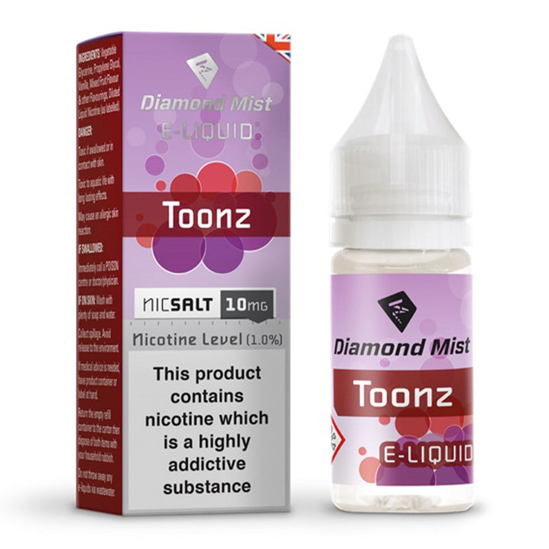 Toonz 10ml Nicotine Salt by Diamond Mist