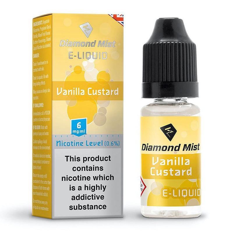 Vanilla Custard 10ml by Diamond Mist