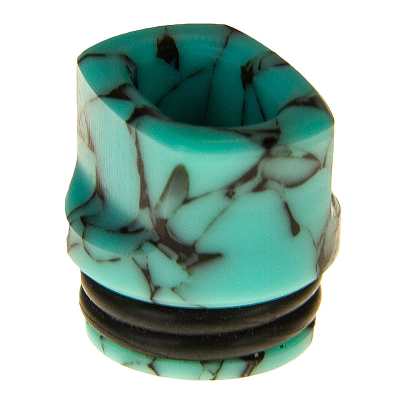 Turquoise Chip Whistle Tip by Double Helix Designs