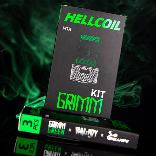 Grimm Kit Coil Heads by Hellvape