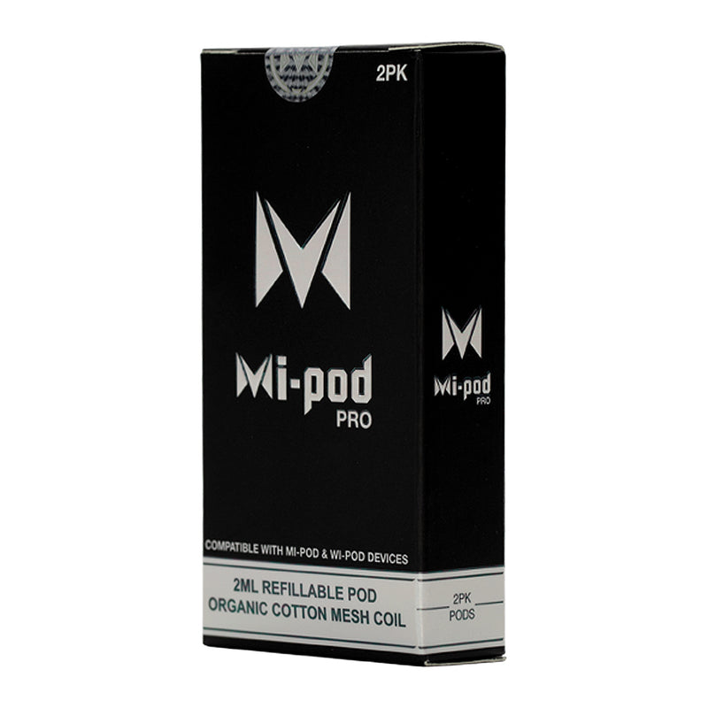 Mi-Pod & Wi-Pod Mesh Pro Refillable Pods by Smoking Vapor