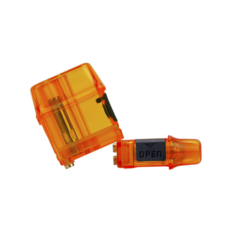Mi-Pod & Wi-Pod Mesh Pro Orange Refillable Pods by Smoking Vapor