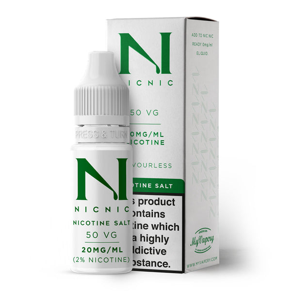 Nicotine Salt Shot 10ml by Nic Nic