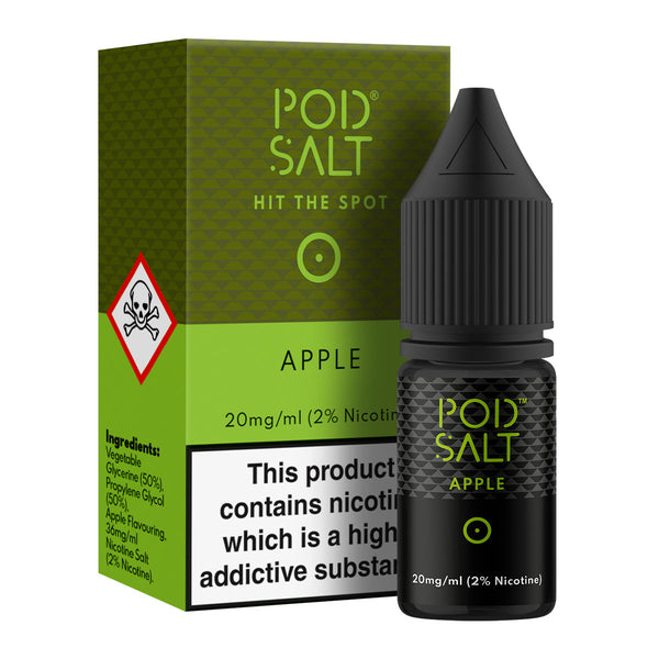 Apple 10ml Nicotine Salt by Pod Salt Core