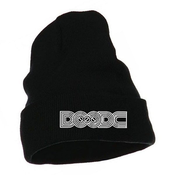 Beanie White Logo by Squidoode