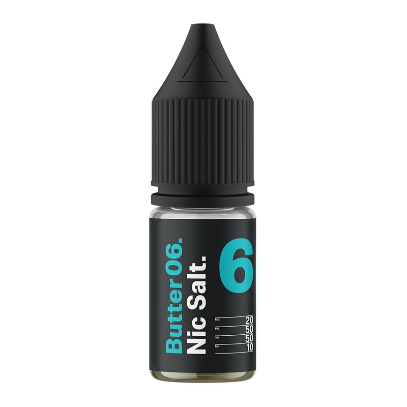 Butter 06 10ml Nicotine Salt by Supergood